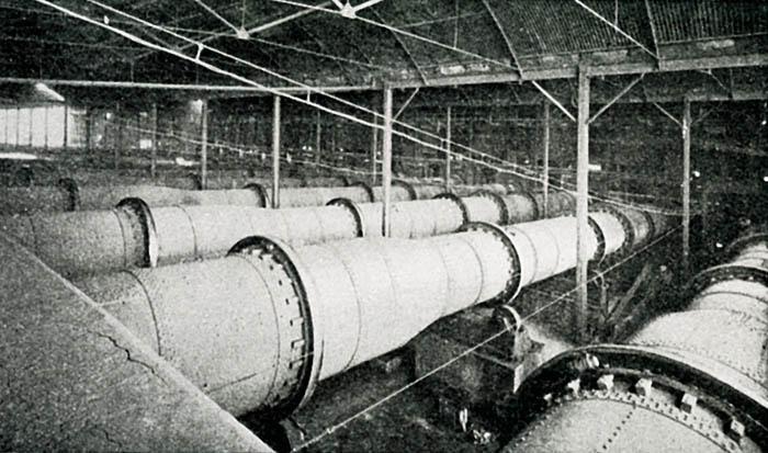 Inside Cement Kiln : Cement kilns swanscombe